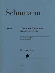 Robert Schumann (1810-1856): Thema mit Variationen, Noten
