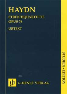 Joseph Haydn (1732-1809): Streichquartette op.76 Nr.1-6, Studien-Edition, Noten