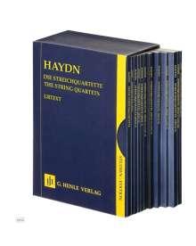 Joseph Haydn: Die Streichquartette, 12 Bde., Partituren. The String Quartets, 12 vol., scores, Noten