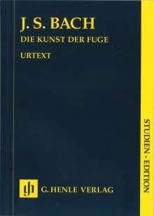 Johann Sebastian Bach: Die Kunst der Fuge BWV 1080, Noten