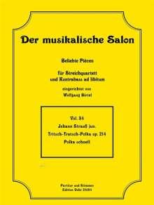 Johann Strauss II: Tritsch-Tratsch-Polka op. 214, Noten