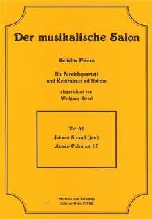 Johann Strauss II: Annen-Polka op. 117, Noten