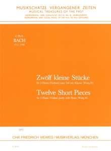 Carl Philipp Emanuel Bach: Zwölf kleine Stücke Wotq. 81, Noten