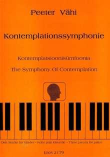 Peeter Vähi: Kontemplationssymphonie (1978), Noten