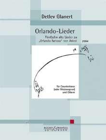 Detlev Glanert: Orlando-Lieder (2004), Noten