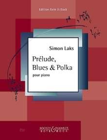 Simon Laks: Prélude, Blues & Polka, Noten