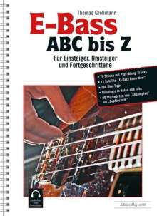 Thomas Großmann: E-Bass ABC bis Z, Noten