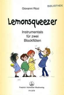 Giovanni Ricci: Lemonsqueezer, Noten