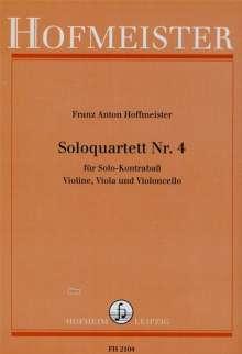 Franz Anton Hoffmeister: Solo-Quartett Nr. 4, Noten