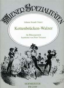 Johann Strauss I: Kettenbrücken-Walzer op. 4, Noten