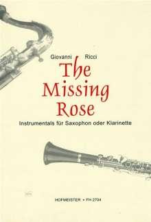 Giovanni Ricci: The Missing Rose. Instrumentals, Noten