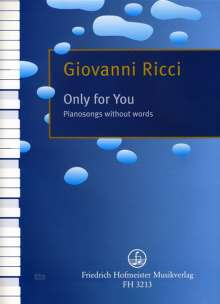Giovanni Ricci: Only for you., Noten