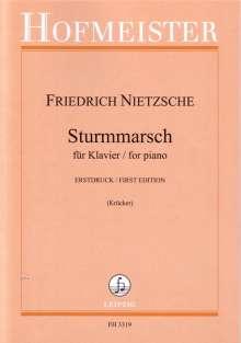 Friedrich Nietzsche (1844-1900): Sturmmarsch, Noten