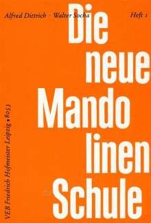 Alfred Dittrich: Mandolinenschule, Teil I, Noten