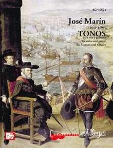 Jose Marin: Tonos (1884), Noten