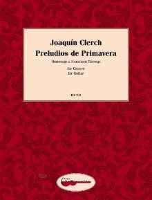 Joaquin Clerch: Preludios de Primavera, Noten