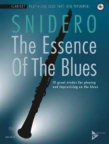 Jim Snidero: The Essence Of The Blues Clarinet, Noten