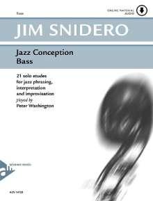 Jim Snidero: Jazz Conception Bass, Noten