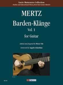 Johann Kaspar Mertz: Barden-Klänge for Guitar. Vol. 1, Noten