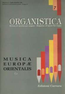 Organistica, Noten