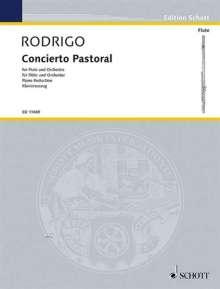 Joaquin Rodrigo: Concierto Pastoral (1977), Noten