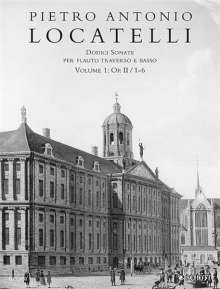 Pietro Locatelli: Dodici Sonate op. 2/1-6, Noten
