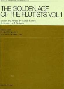 Golden Age of the Flutists 1, Noten