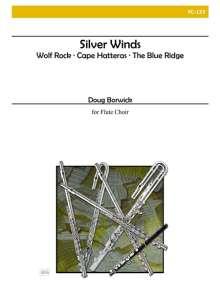Doug Borwick: Silver Winds for Flute Choir, Noten