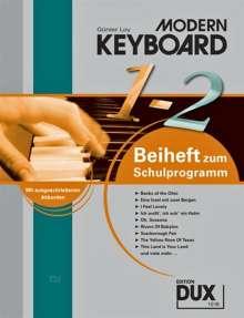 Günter Loy: Modern Keyboard Beiheft 1/2, Noten