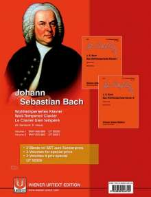 Johann Sebastian Bach: Das Wohltemperierte Klavier, Noten