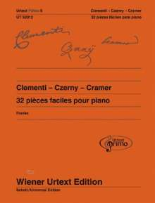 Muzio Clementi: Clementi - Czerny - Cramer, Noten
