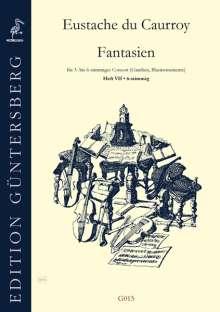 Eustache du Caurroy: 42 Fantasien, Noten