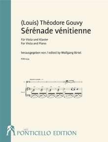 (Louis) Théodore Gouvy: Sérénade vénetienne für Viola und Klavier, Noten