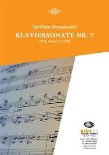 Gabriela Moyseowicz: Klaviersonate Nr. 7, Noten