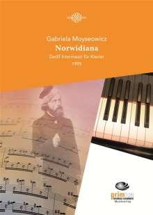 Gabriela Moyseowicz: Norwidiana Klavier, Noten