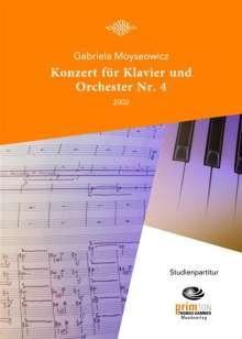 Gabriela Moyseowicz: Konzert für Klavier und Orchester Nr. 4 (2002), Noten