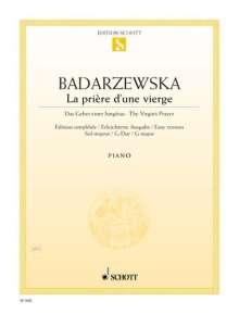 Tekla Badarzewska: La prière d'une vierge G-Dur, Noten