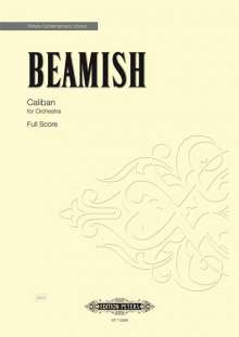Sally Beamish: Caliban for Orchestra (2017), Noten