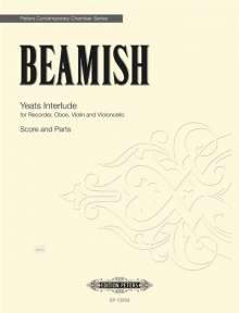 Sally Beamish: Yeats Interlude for Recorder, Oboe, Violin and Cello, Noten