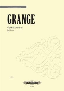 Philip Grange: Violin Concerto, Noten