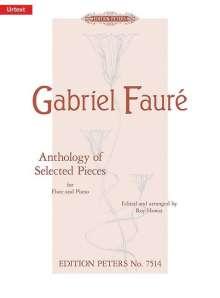 Gabriel Faure: Anthologie ausgewählter Stücke für Flöte und Klavier, Noten