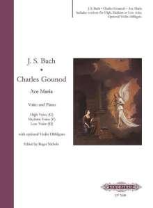 Johann Sebastian Bach: Ave Maria, Noten
