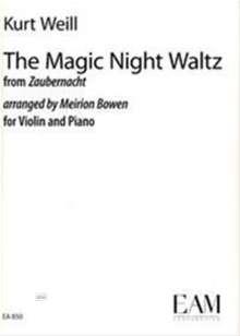 Kurt Weill: The Magic Night Waltz from Zaubernacht, Noten