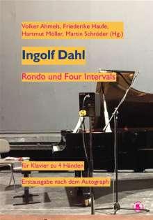 Ingolf Dahl: Rondo und Intervals für Klavier zu vier Händen, Noten
