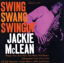 Jackie McLean (1931-2006): Swing Swang Swingin', LP