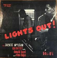Jackie McLean (1931-2006): Lights Out!, LP