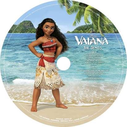 Filmmusik Vaiana Original Soundtrack Picture Disc