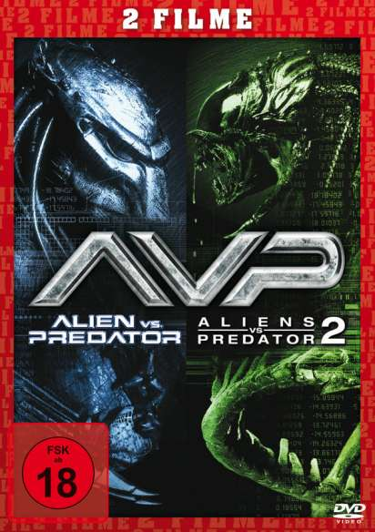 Alien Vs Predator 1 2 Dvd Jpc
