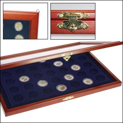 Münzen Vitrinen Für 2 Euro Münzen In Kapseln Diverse Jpc