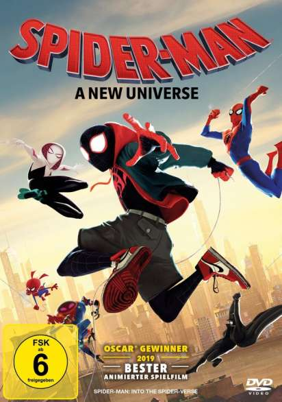 Spider Man A New Universe